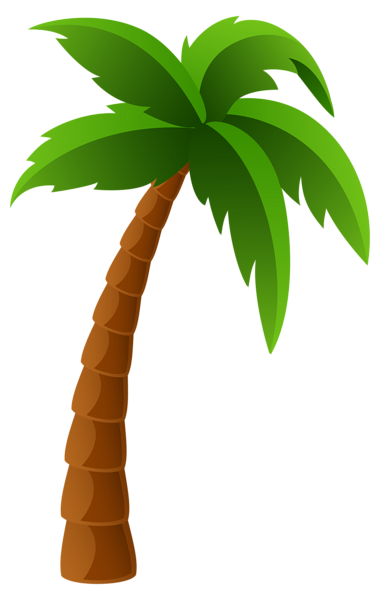 Palm tree art tropical palm trees clip art clip art palm tree 5 2 - Clipartix