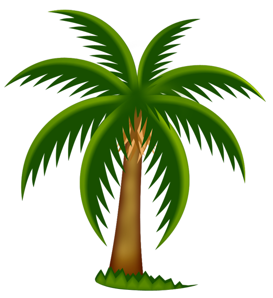 Palm tree art tropical palm trees clip art clip art palm tree 5 - Clipartix