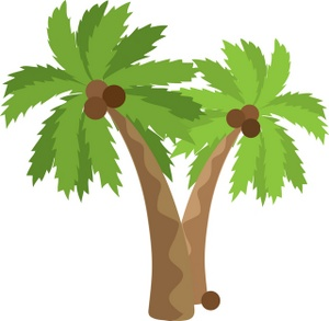 Palm tree art tropical palm trees clip art clip art palm tree
