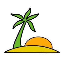 ... Palm Tree Beach Clip Art ...-... Palm Tree Beach Clip Art ...-16