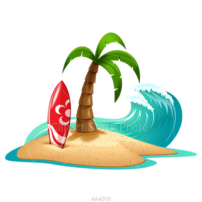 Palm Tree Beach Clipart Clipart Panda Free Clipart Images