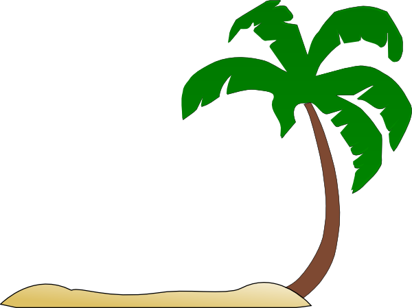 ... Palm Tree Beach Clipart - Free Clipart Images ...