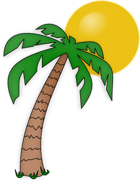 Palm Tree Clip Art clip .