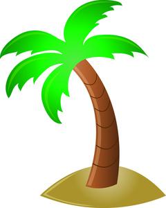 Palm Tree Clip Art-Palm Tree Clip Art-8