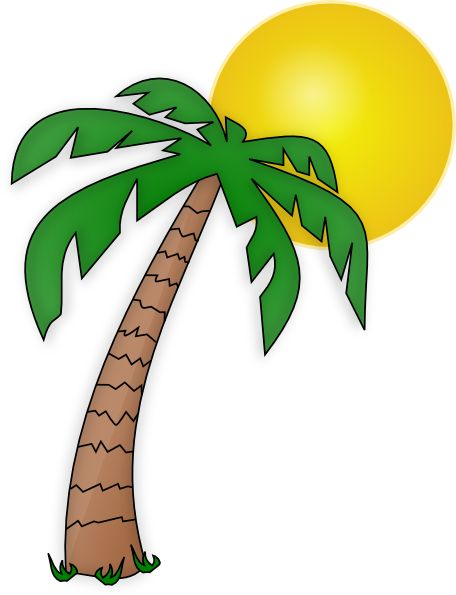 Palm Tree Clip Art Transparent Background | Clipart Panda - Free .