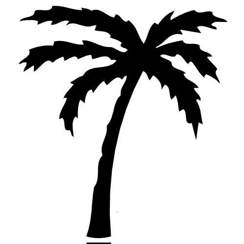 Palm Tree Clipart No .-Palm Tree Clipart No .-11