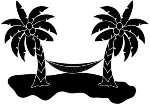 Palm Tree Hammock Clip Art-Palm Tree Hammock Clip Art-15