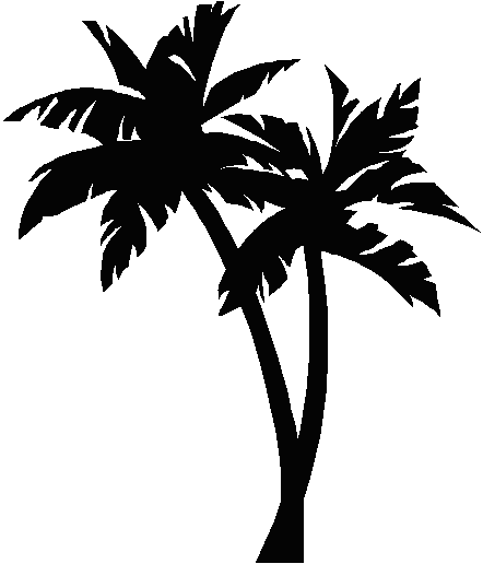 Palm tree no background free clipart images 2 u2013 Gclipart clipartall.com