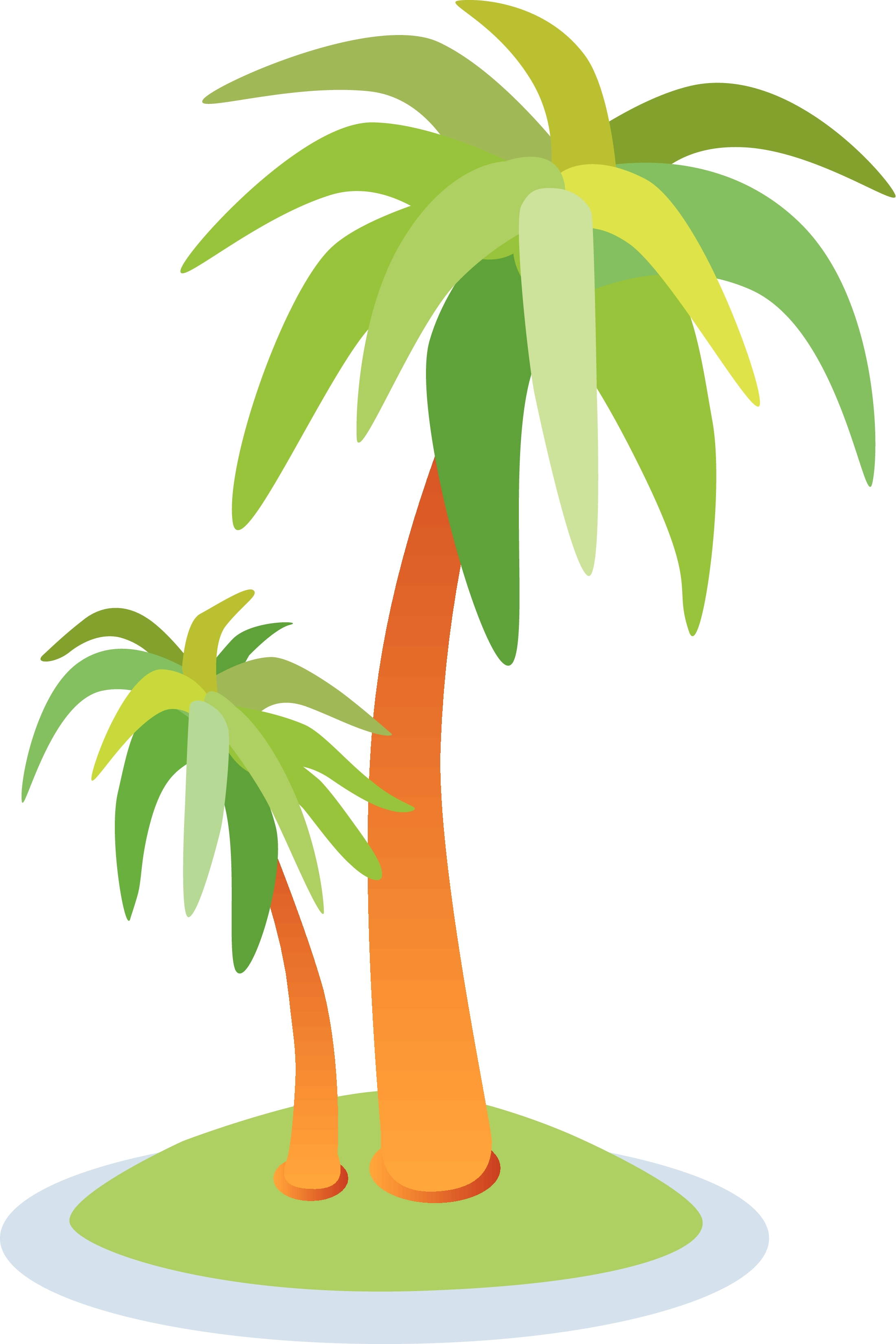 Palm Trees Clipart Annual Soiree Island Fever