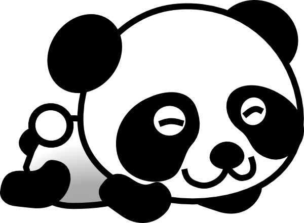 Panda Clipart-panda clipart-13
