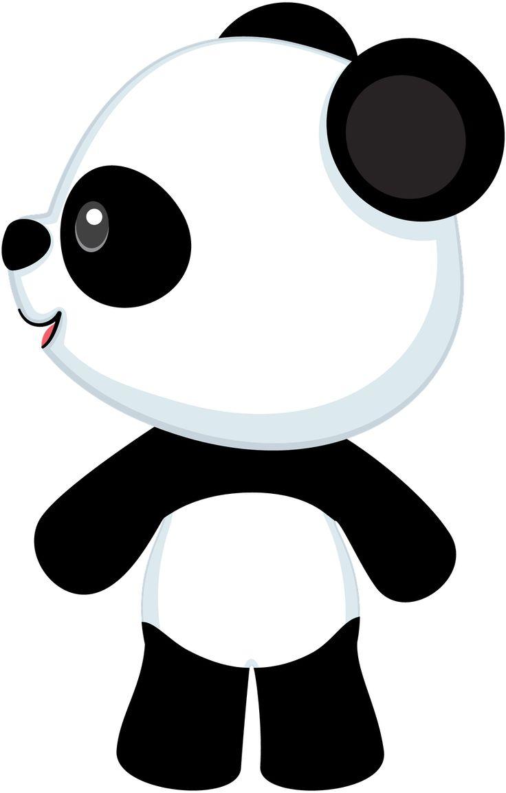 Panda Bear 1 Minus Clip Art .-Panda bear 1 minus clip art .-17