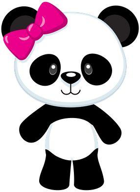 Panda clip art clipart image