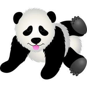 Panda free teddy bear clip art 2