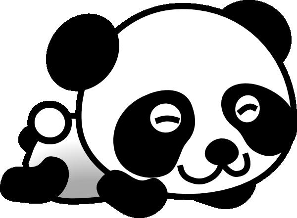 Panda head clipart free images-Panda head clipart free images-18