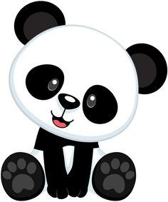 Panda on pandas panda bears and cute panda clip art