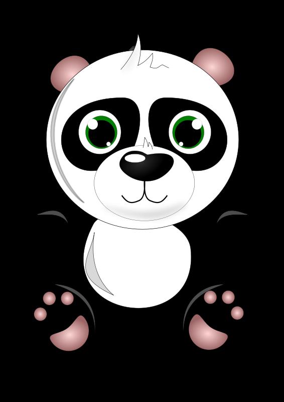 Panda5 - Panda Clip Art