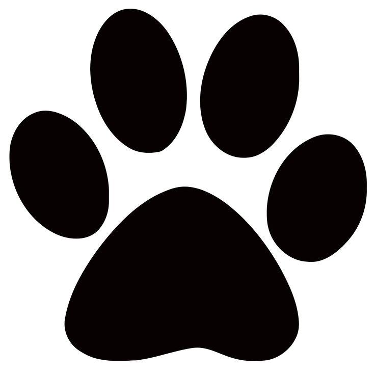 Panther Paw Print Clip Art - ClipArt Best - ClipArt Best
