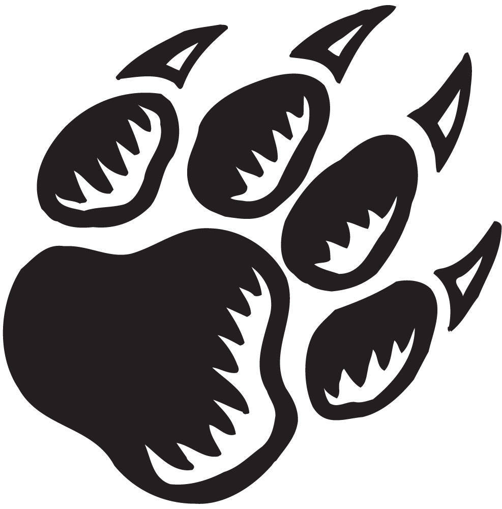 Panther Paw Print Image Free Cliparts That You Can Download To You