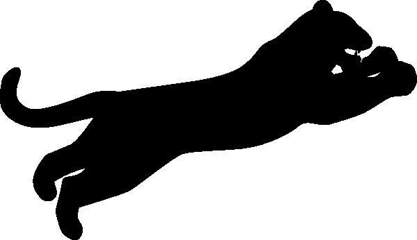 Panther Silhouette Clip Art At Clker Com Vector Clip Art Online