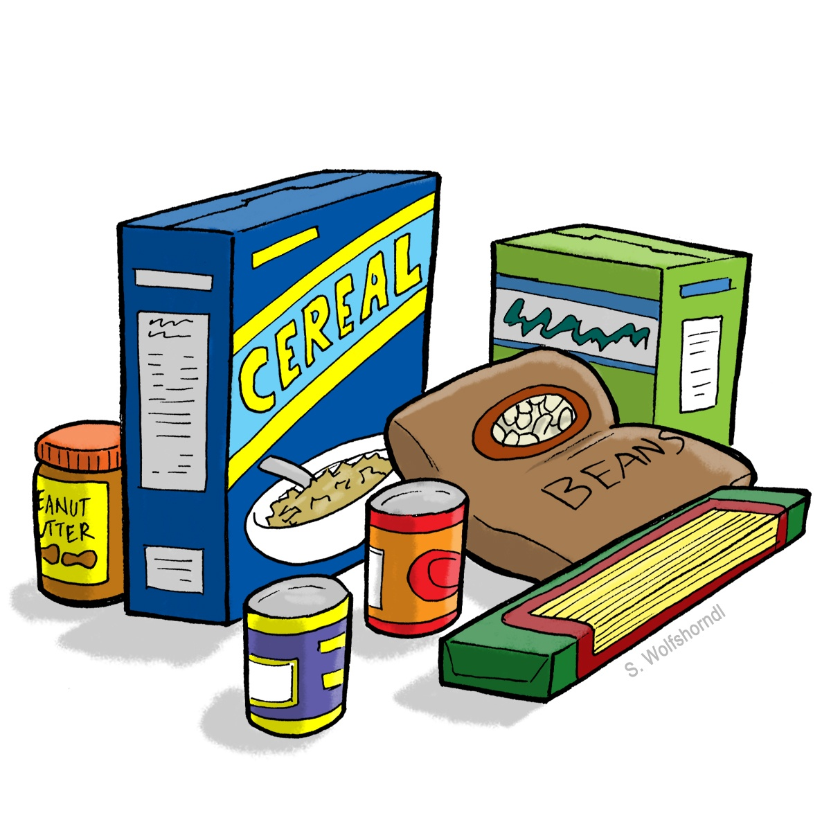 pantry clipart