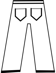 Pants Clip Art At Clker Com Vector Clip Art Online Royalty Free