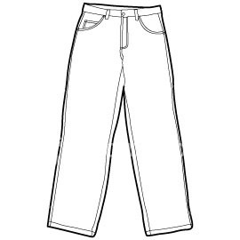 Pants Template Clipart Best