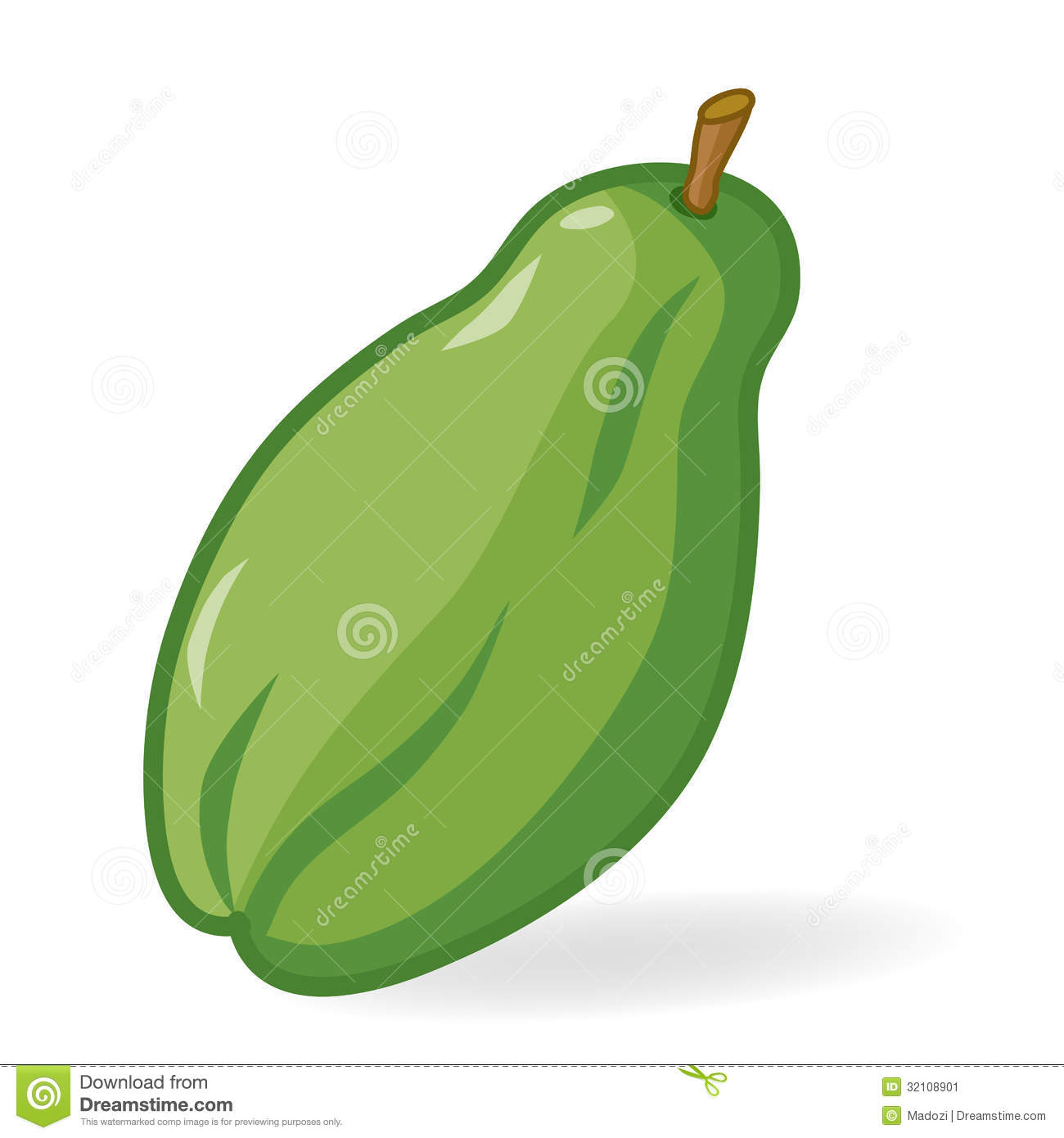 Papaya Clipart-Clipartlook.com-1300