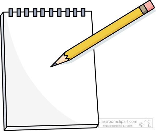 Paper and pencil clip art pencil and paper clipart stonetire free images