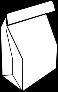 Paper Bag Lunch Clip Art At Clker Com Vector Clip Art Online