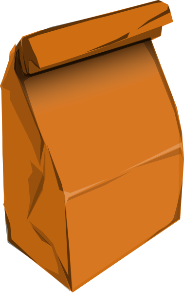 Paper Bag With Eyes Clipart Free Clip Art Images