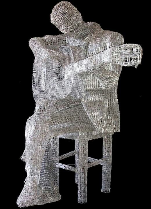 Paper clip sculpture!