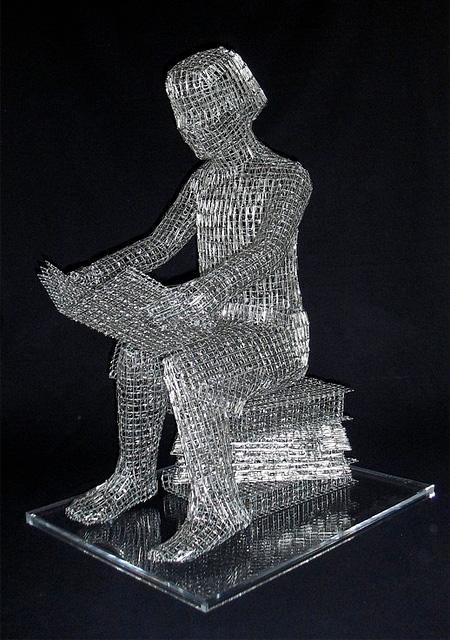 Paper Clip Sculpture-Paper Clip Sculpture-10