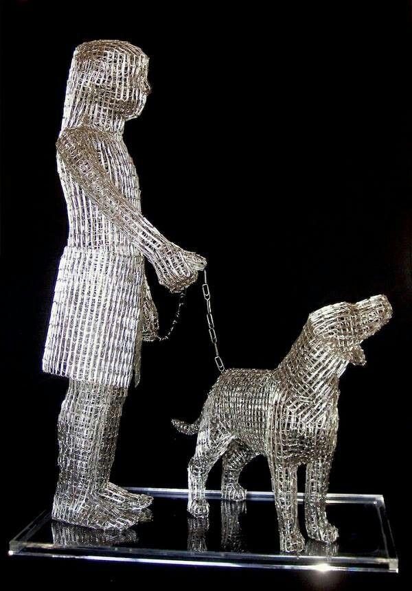 Paper Clip Sculpture-Paper clip sculpture-11