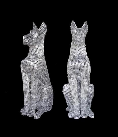 Paper Clip Sculptures By Pietro Du0026#3-Paper Clip Sculptures by Pietro Du0026#39; Angelo-13