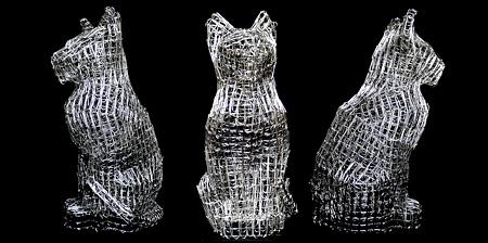 Paper Clip Sculptures-Paper Clip Sculptures-14