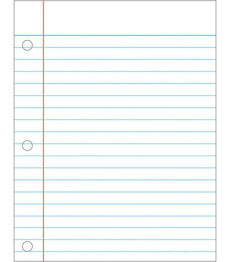 Paper Notebooks Clipart Clip Art Notebook Paper