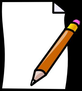Paper Pencil Clip Art-Paper Pencil Clip Art-15