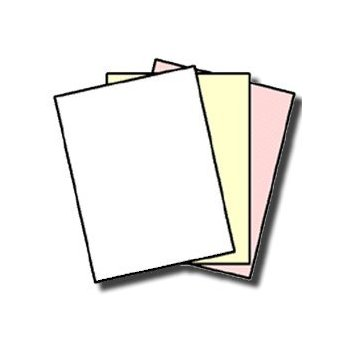 167 Sets NCRu0026reg; Paper, 3 Part, Letter Size Reverse Collated Carbonless  Paper 01917