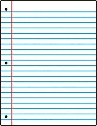 cartoon notebook paper sheet of notebook-cartoon notebook paper sheet of notebook paper clipart clipartxtras download-11