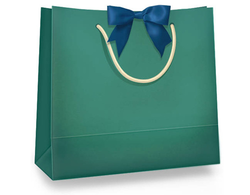Paper Shopping Bag With Thread Handle Fr-Paper Shopping Bag With Thread Handle Free Vector Sale Shopping-6