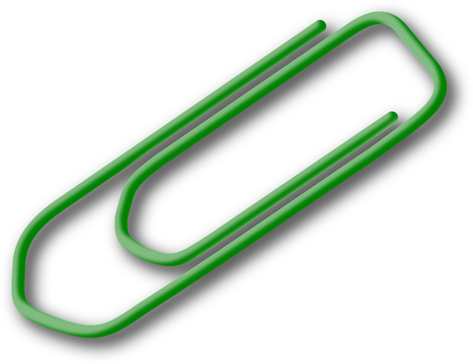 Paperclip, Paper-Clip, Office - Paperclip Png