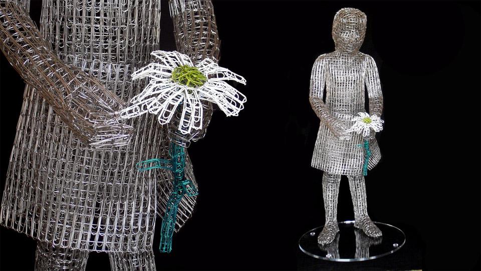 Paperclip Sculptures Pop Out-Paperclip Sculptures pop out-17