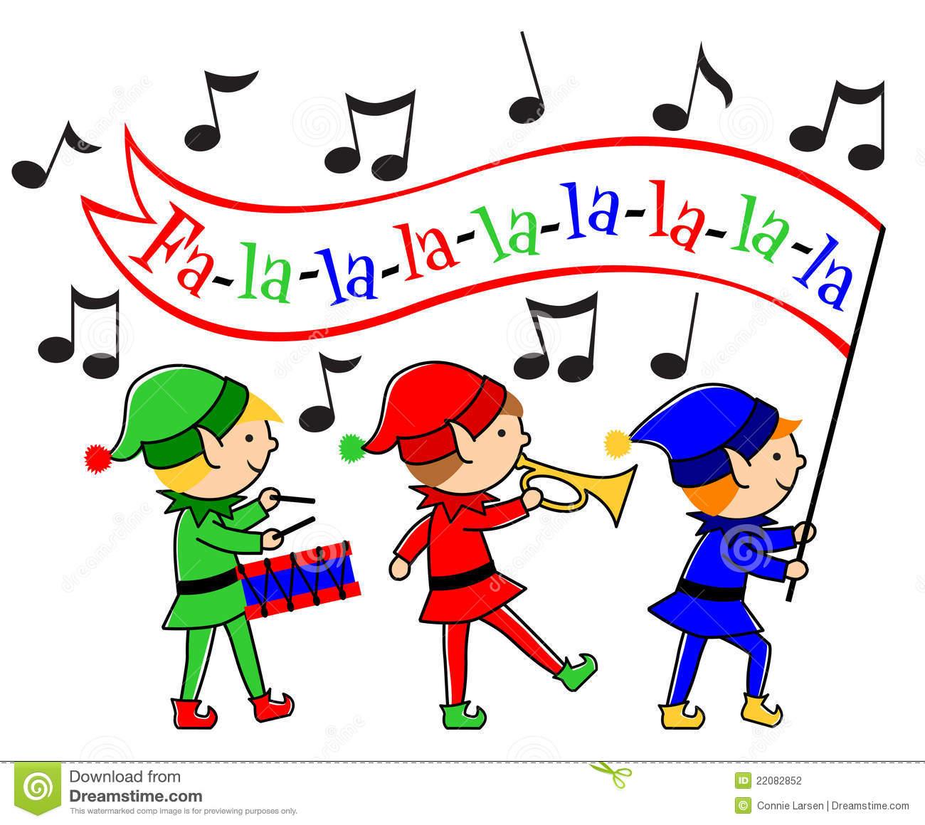 Parade Clipart Christmas Elves .
