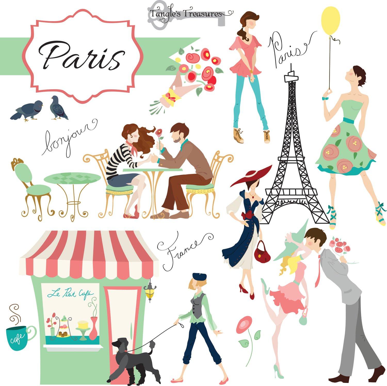 Paris Clipart-Clipartlook.com-1500