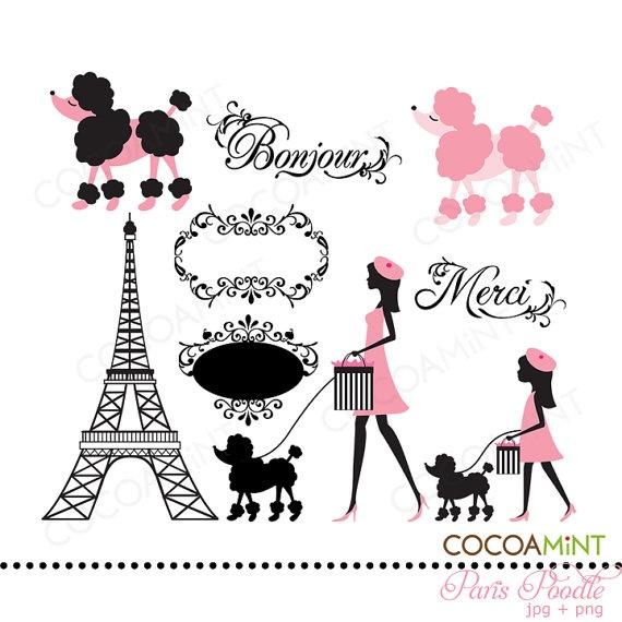 Paris clipart images - .