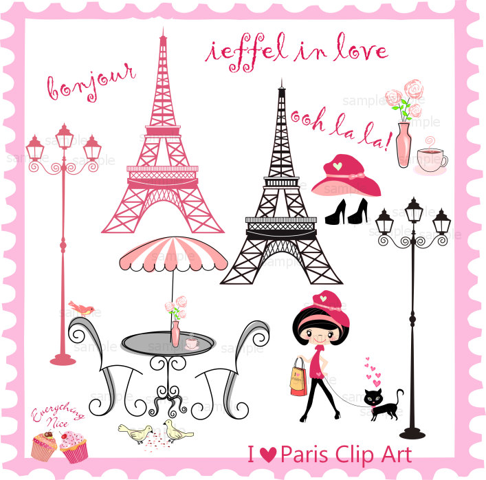 Paris Clipart. Paris cliparts