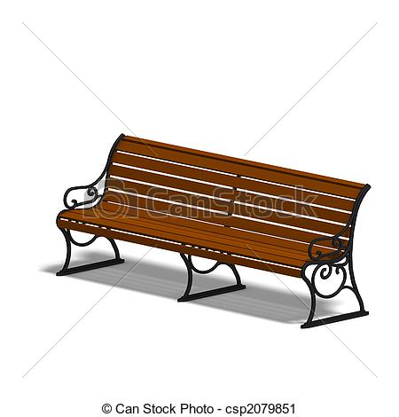 ... Park Bench - Wooden Park Bench. 3D R-... park bench - wooden park bench. 3D render with clipping path... park bench Clipartby ...-14