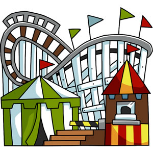 park clipart - Amusement Park Clip Art