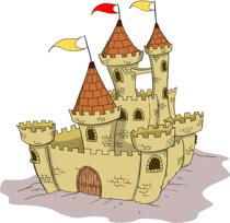 Parts of a castle clipart. Size: 82 Kb