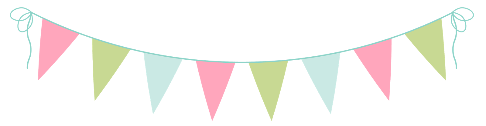 Party Bunting Clip Art - ClipArt Best